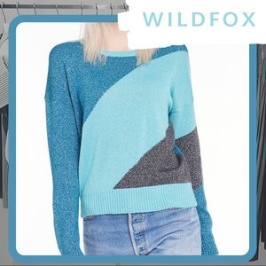 🐰 NWOT WILDFOX Tidal Wave Sydney Sweater SAMPLE